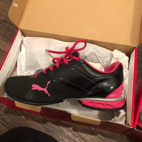 Pink Puma Running Shoes | Poshmark
